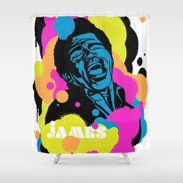 Soul Activism :: James Brown Shower Curtain
