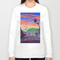 psychadelic Long Sleeve T-shirts featuring  Surf Art Psychadelic  by Surf Art Gabriel Picillo