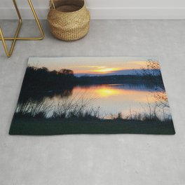 Concept : Water reflection Rug