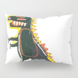 Dinosaur: Homage to Basquiat Pillow Sham