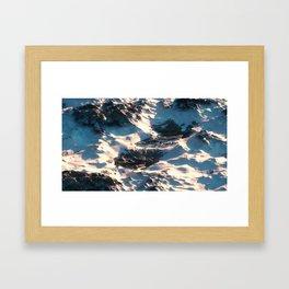 Day 1019 /// Something like this Framed Art Print