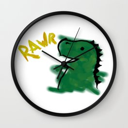 The Little Dinosaur Wall Clock