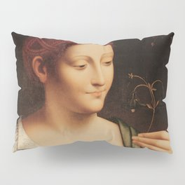 "Francesco Melzi ""Colombine"" Pillow Sham"