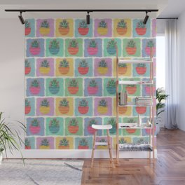 Potted Jade Plants Wall Mural
