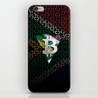 south africa iPhone & iPod Skins featuring bitcoin South Africa by seb mcnulty