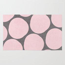 pink pebbles Rug