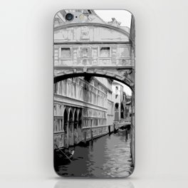 The Bridge of Sighs in Venice Italy Travel iPhone Skin