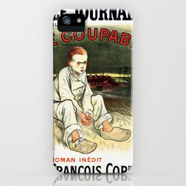 Le Coupable, The Guilty One iPhone Case