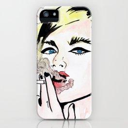 Monique. iPhone Case