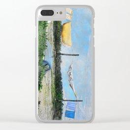 Erice art 6 Clear iPhone Case