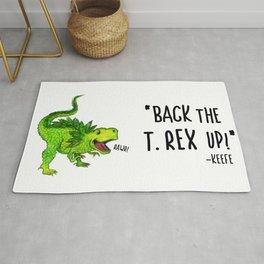Back the T. Rex up! Rug