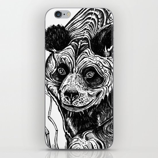 Panda Love iPhone & iPod Skin
