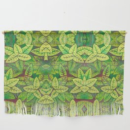 Spring leaves Wall Hanging