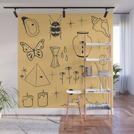 Yellow Flash Sheet Wall Mural