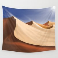 desert Wall Tapestries featuring Desert by Turul