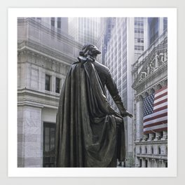 New York City's Wall Street Art Print