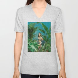 Jane of the Jungle Unisex V-Neck
