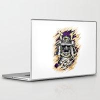 samurai Laptop & iPad Skins featuring Samurai by hadee