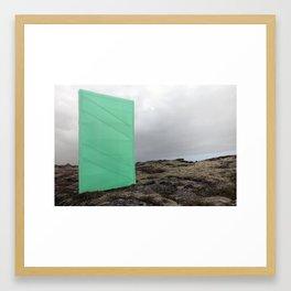Hotspots Framed Art Print