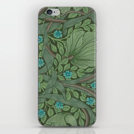 "William Morris ""Forget-Me-Nots"" (""Pimpernel"" detail) iPhone Skin"