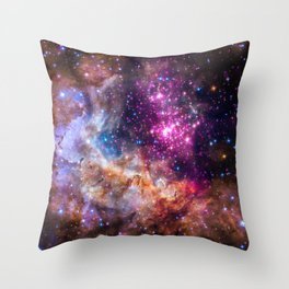 Westerlund 2 Chandra Throw Pillow