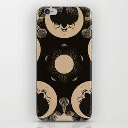Ouija Wheel of the Moon - Beyond the Veil iPhone Skin