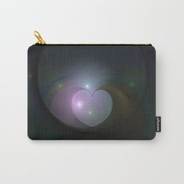 Please Rescue My Heart Fractal Carry-All Pouch