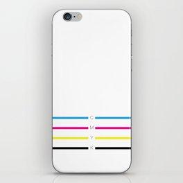 CMYK iPhone Skin