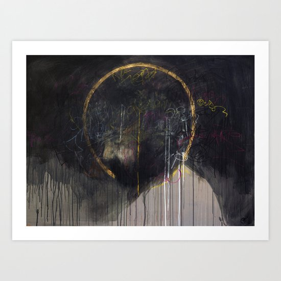 A Man Of Sorrow Art Print