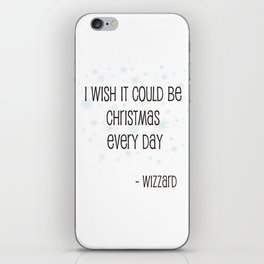 Christmas Every Day iPhone Skin