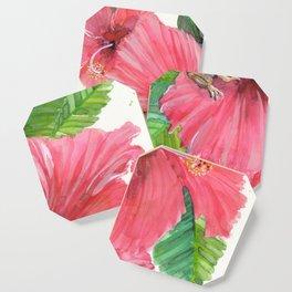 Coqui Frog & Hibiscus Flower Coaster