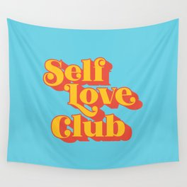 Self Love Club Wall Tapestry