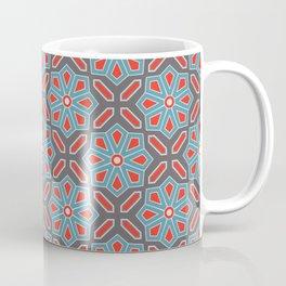 Volcanic Eruption Abstract Print Seamless Pattern Coffee Mug
