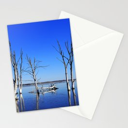 Tree into the water PHOTOGRAPHY Stationery Cards