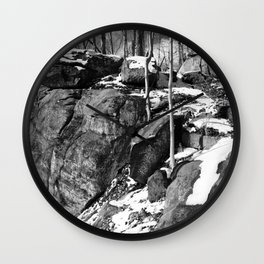 A winter hike in Athens Wall Clock
