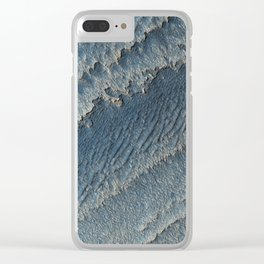 martian-made crater ripples | space #15 Clear iPhone Case
