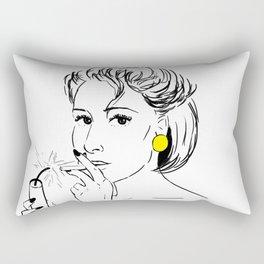 disco queen Rectangular Pillow