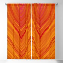 stripes wave pattern 3 eei Blackout Curtain