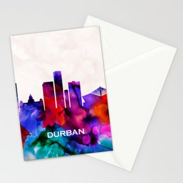 Durban Skyline Stationery Cards