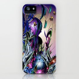 Morning Visitors iPhone Case