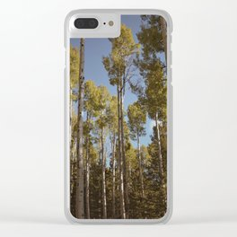 Beginning Of Autumn Clear iPhone Case