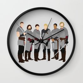 Merlin bbc, The Knights of the Round Table Wall Clock