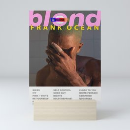 Frank - Blond Mini Art Print