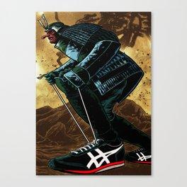 Samurai in Sneakers Canvas Print