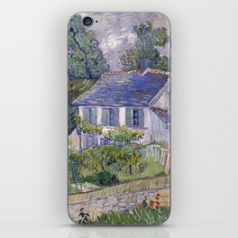 Vincent Van Gogh - Houses at Auvers iPhone Skin