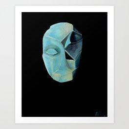 Luna Art Print