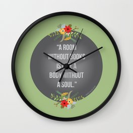 Body without a soul Wall Clock