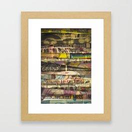 Gigs & Cigs Framed Art Print