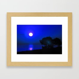 Dawn in the South fourth Framed Art Print