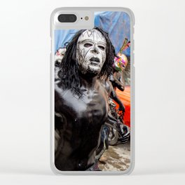 Painted young II Clear iPhone Case